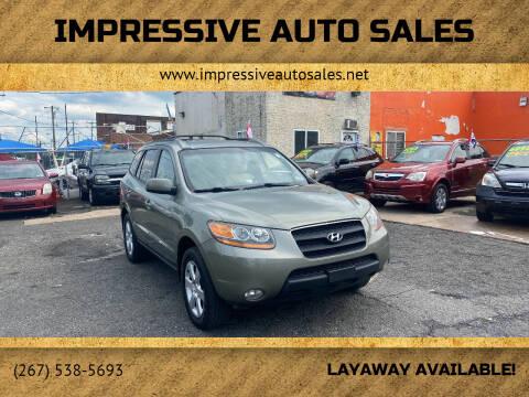 2009 Hyundai Santa Fe for sale at Impressive Auto Sales in Philadelphia PA