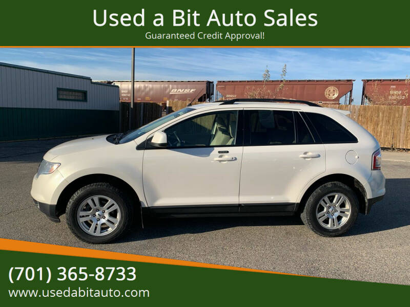 2008 Ford Edge for sale at Used a Bit Auto Sales in Fargo ND