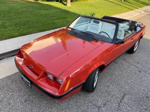 1986 Ford Mustang for sale at Donada  Group Inc in Arleta CA