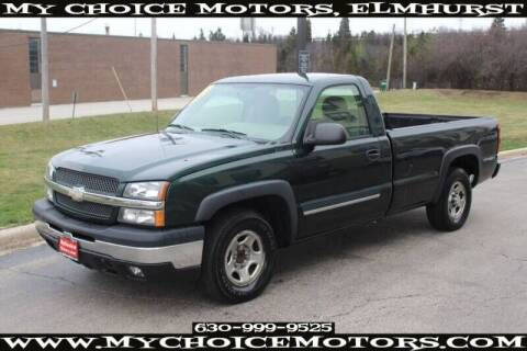 2004 Chevrolet Silverado 1500 for sale at My Choice Motors Elmhurst in Elmhurst IL