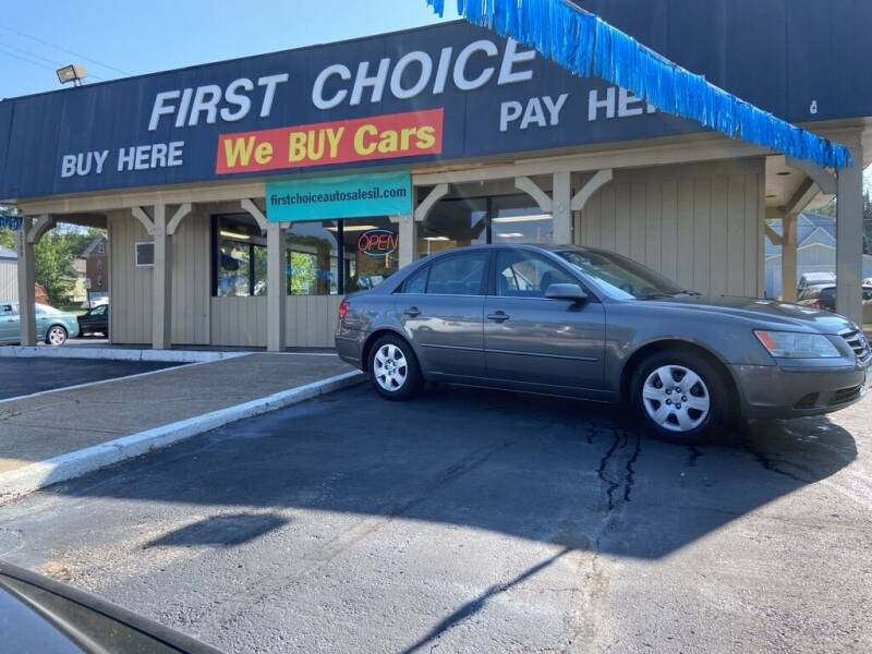 2009 Hyundai Sonata for sale at First Choice Auto Sales in Rock Island IL