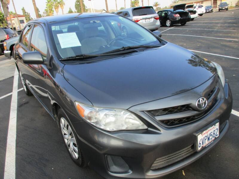 2012 Toyota Corolla for sale at F & A Car Sales Inc in Ontario CA