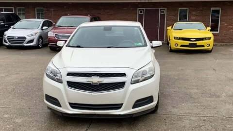 2013 Chevrolet Malibu for sale at Cj king of car loans/JJ's Best Auto Sales in Troy MI