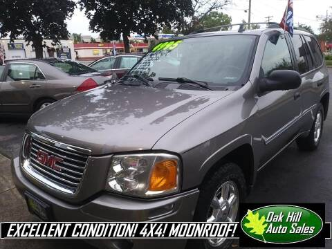 2006 GMC Envoy for sale at Oak Hill Auto Sales of Wooster, LLC in Wooster OH