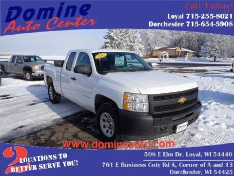 2012 Chevrolet Silverado 1500 for sale at Domine Auto Center - commercial vehicles in Loyal WI