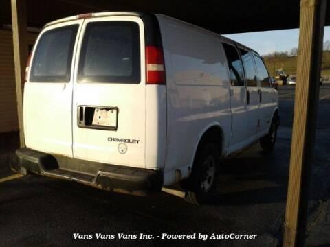 2004 Chevrolet Express Cargo for sale at Vans Vans Vans INC in Blauvelt NY