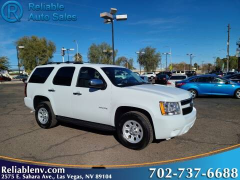 2010 Chevrolet Tahoe for sale at Reliable Auto Sales in Las Vegas NV