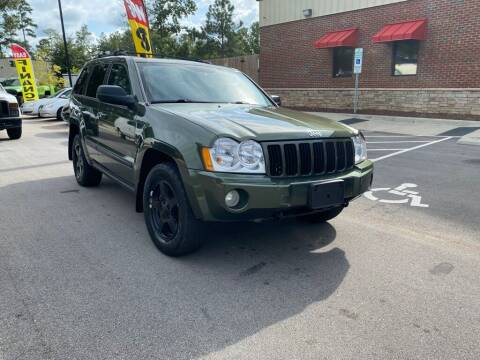 2007 Jeep Grand Cherokee for sale at JV Motors NC LLC in Raleigh NC