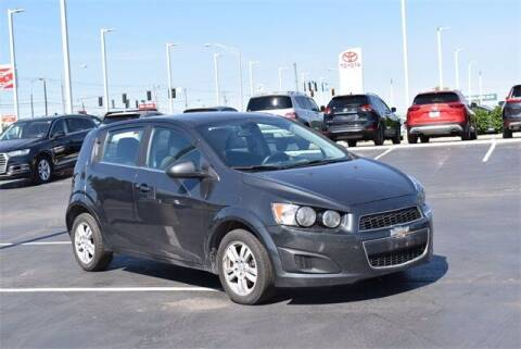 2015 Chevrolet Sonic for sale at BOB ROHRMAN FORT WAYNE TOYOTA in Fort Wayne IN