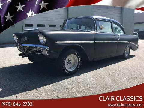 1956 Chevrolet Bel Air for sale at Clair Classics in Westford MA