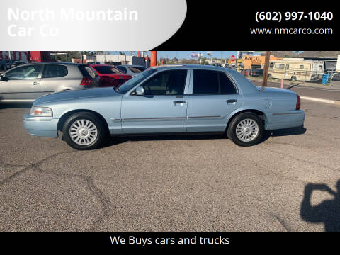 2007 Mercury Grand Marquis for sale at North Mountain Car Co in Phoenix AZ
