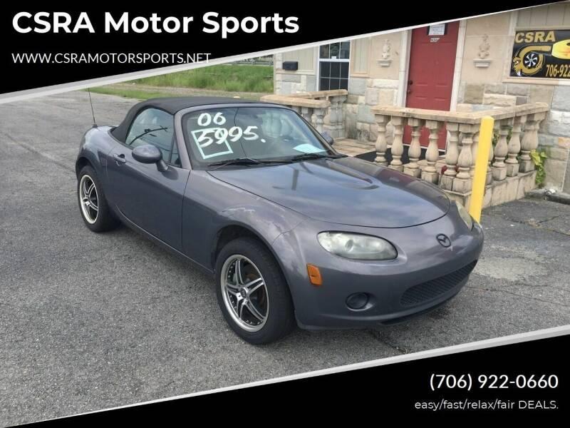 2006 Mazda MX-5 Miata for sale at CSRA Motor Sports in Augusta GA