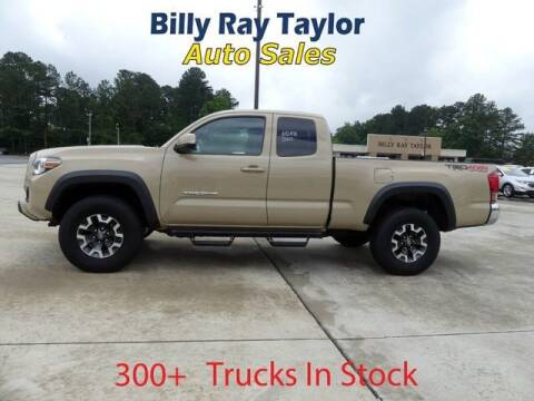 2017 Toyota Tacoma for sale at Billy Ray Taylor Auto Sales in Cullman AL