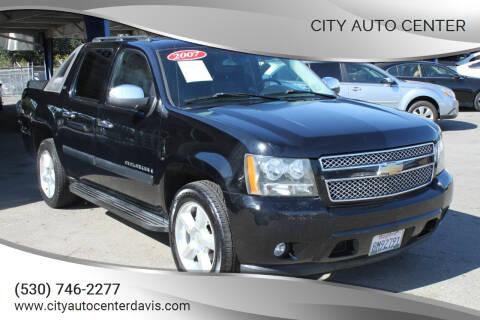 2007 Chevrolet Avalanche for sale at City Auto Center in Davis CA