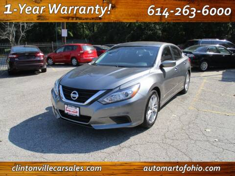 2016 Nissan Altima for sale at Clintonville Car Sales - AutoMart of Ohio in Columbus OH