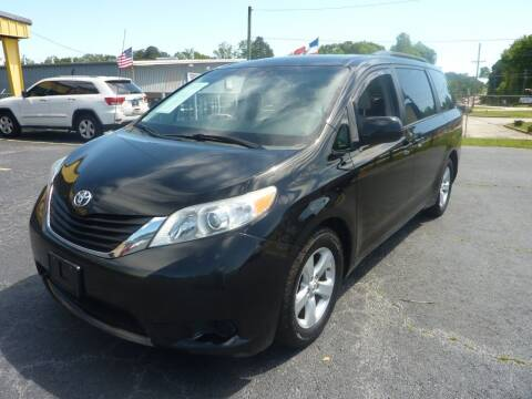2012 Toyota Sienna for sale at Roswell Auto Imports in Austell GA