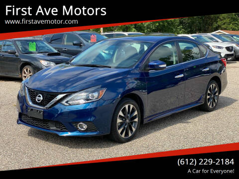 2019 Nissan Sentra for sale at First Ave Motors in Shakopee MN
