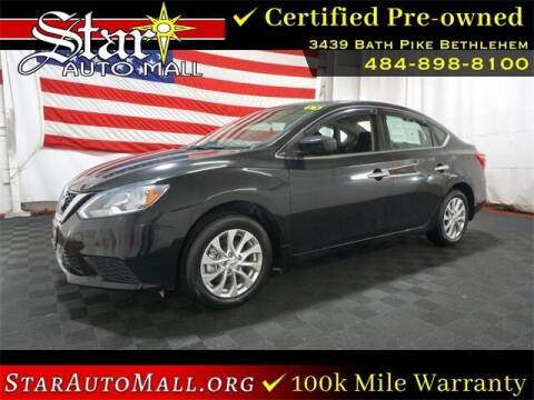 2017 Nissan Sentra for sale at STAR AUTO MALL 512 in Bethlehem PA