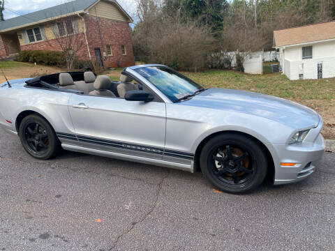 2013 Ford Mustang for sale at BRAVA AUTO BROKERS LLC in Clarkston GA