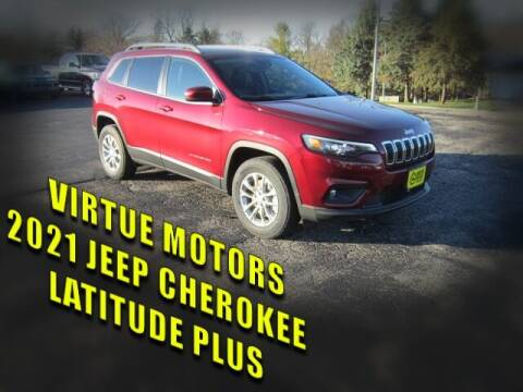 2021 Jeep Cherokee for sale at Virtue Motors in Darlington WI