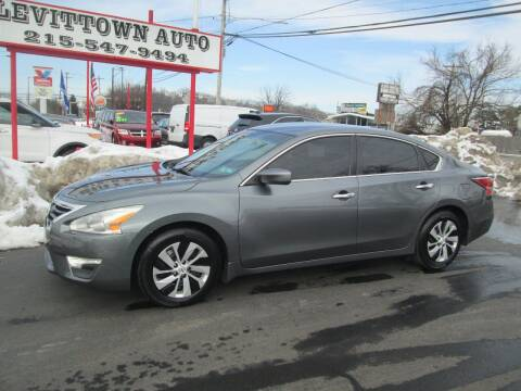 2015 Nissan Altima for sale at Levittown Auto in Levittown PA