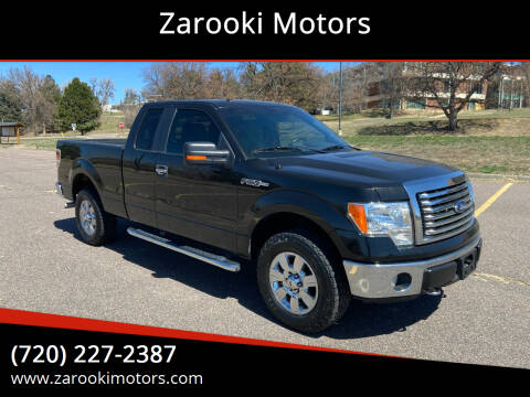 2012 Ford F-150 for sale at Zarooki Motors in Englewood CO