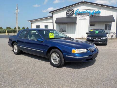 1996 Mercury Cougar for sale at Country Auto in Huntsville OH