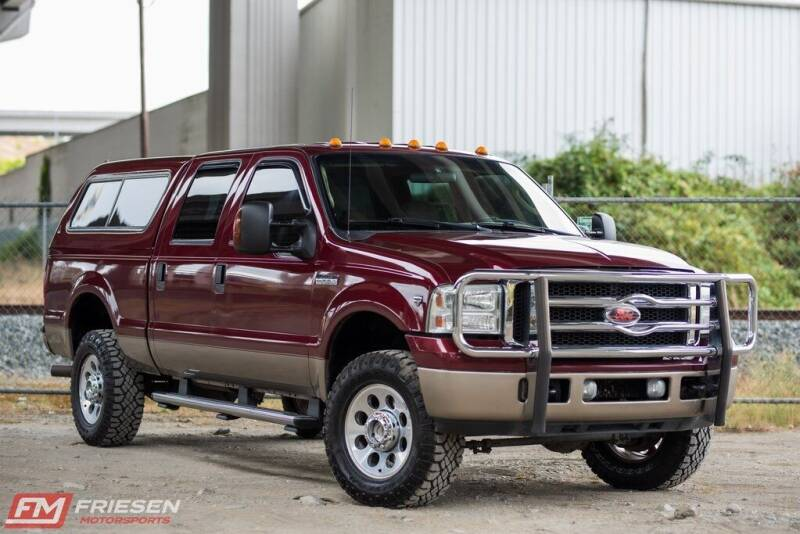 2007 Ford F-350 Super Duty for sale at Friesen Motorsports in Tacoma WA