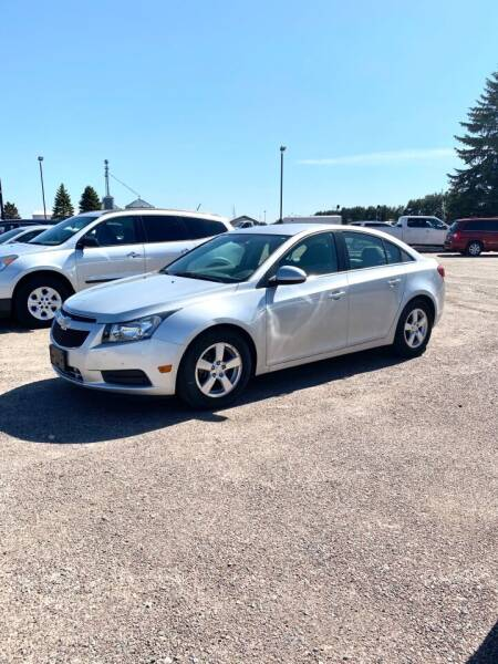 2014 Chevrolet Cruze for sale at Rice Auto Sales in Rice MN
