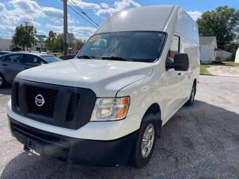 2016 Nissan NV Cargo for sale at Alpina Imports in Essex MD