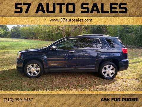 2017 GMC Terrain for sale at 57 Auto Sales in San Antonio TX