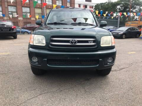 2004 Toyota Sequoia for sale at Metro Auto Sales in Lawrence MA