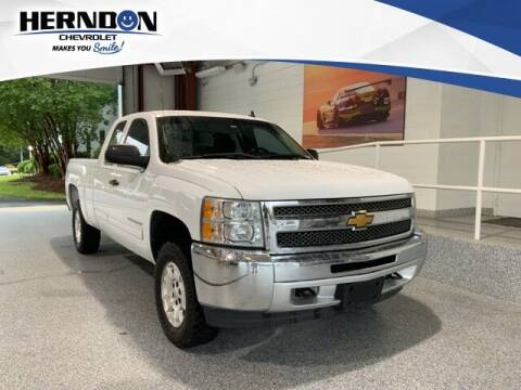 2013 Chevrolet Silverado 1500 for sale at Herndon Chevrolet in Lexington SC