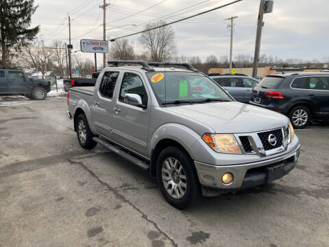 2011 Nissan Frontier for sale at JERRY SIMON AUTO SALES in Cambridge NY