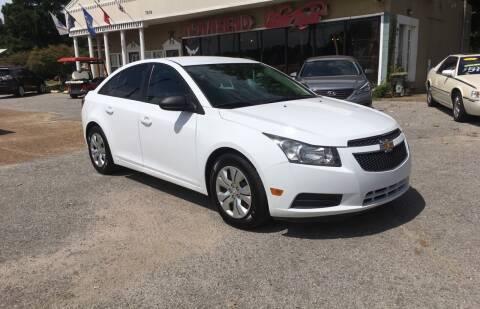 2014 Chevrolet Cruze for sale at Townsend Auto Mart in Millington TN