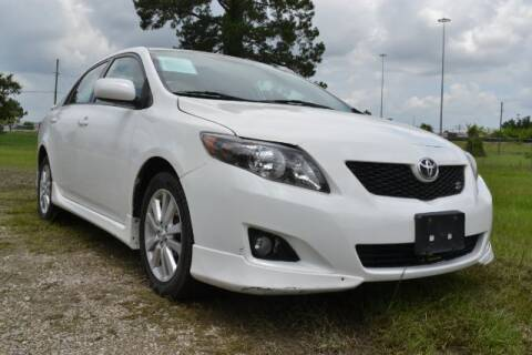 2010 Toyota Corolla for sale at WOODLAKE MOTORS in Conroe TX