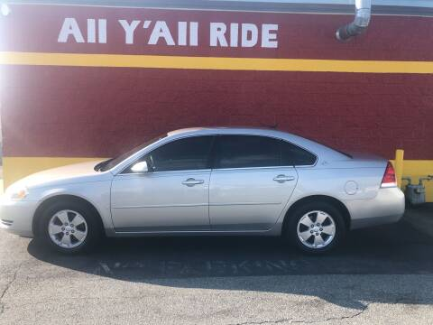 2007 Chevrolet Impala for sale at Big Daddy's Auto in Winston-Salem NC