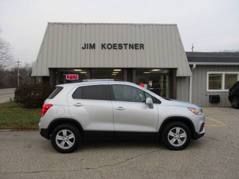 2017 Chevrolet Trax for sale at JIM KOESTNER INC in Plainwell MI