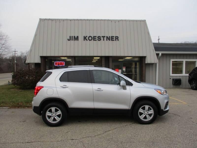 2017 Chevrolet Trax for sale at JIM KOESTNER INC in Plainwell MI