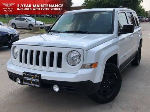 2016 Jeep Patriot for sale at European Motors Inc in Plano TX