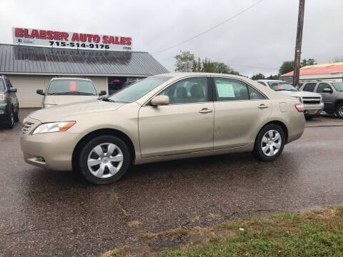 2009 Toyota Camry for sale at BLAESER AUTO LLC in Chippewa Falls WI