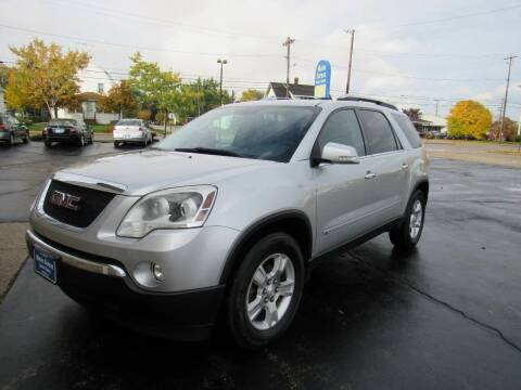 2009 GMC Acadia for sale at MAIN STREET AUTO SALES in Neenah WI