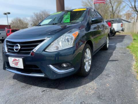 2015 Nissan Versa for sale at Stach Auto in Janesville WI