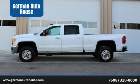 2016 GMC Sierra 2500HD for sale at German Auto House in Fitchburg WI