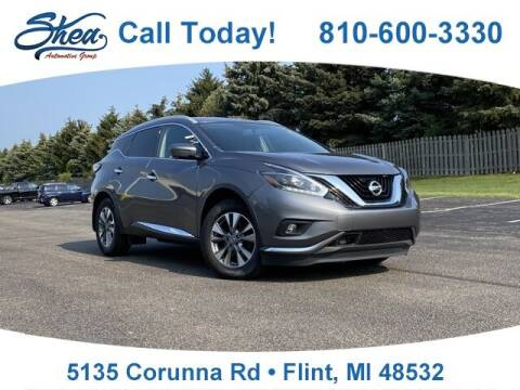 2018 Nissan Murano for sale at Erick's Used Car Factory in Flint MI