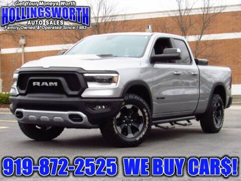 2019 RAM Ram Pickup 1500 for sale at Hollingsworth Auto Sales in Raleigh NC