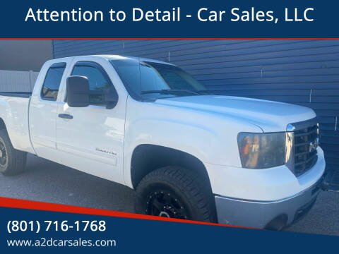 2010 GMC Sierra 2500HD for sale at Attention to Detail - Car Sales, LLC in Ogden UT