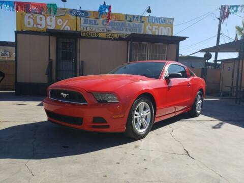 2013 Ford Mustang for sale at DEL CORONADO MOTORS in Phoenix AZ
