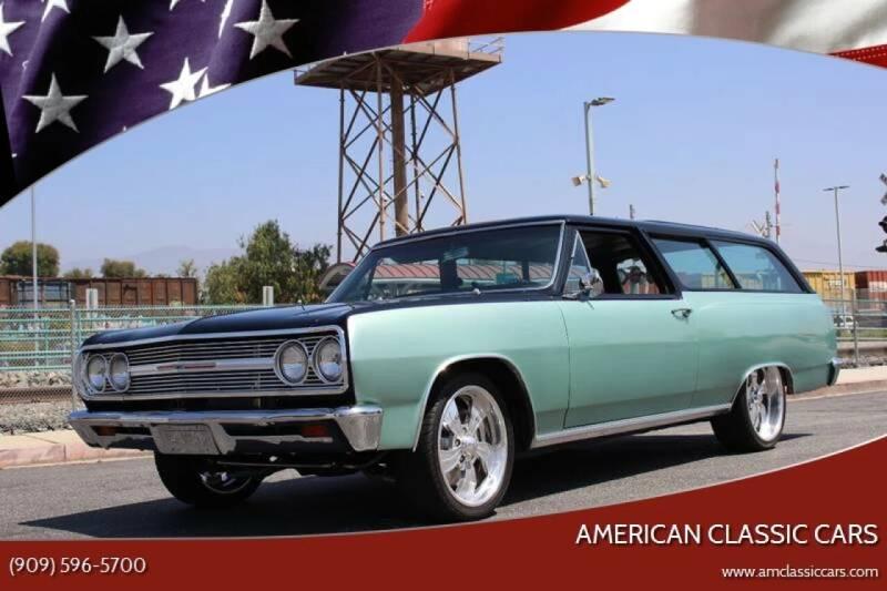 1965 Chevrolet Chevelle for sale at American Classic Cars in La Verne CA