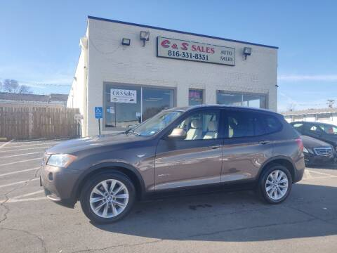 2014 BMW X3 for sale at C & S SALES in Belton MO
